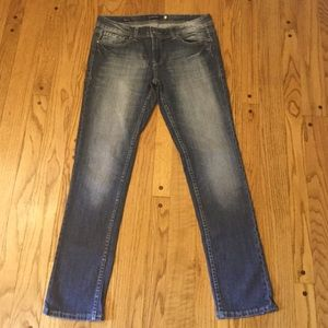 JUNIORS 9 R VIGOSS SKINNY JEANS STRETCH DENIM